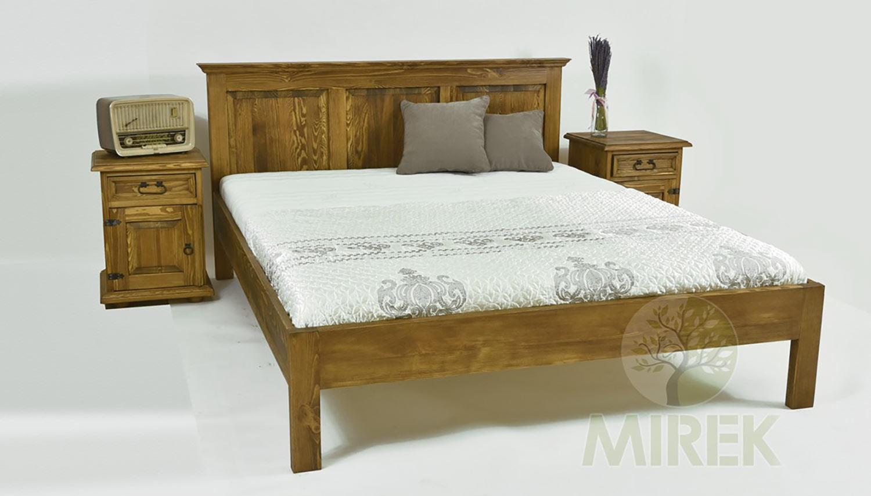 Posteľ 180x200 cm Lux France z kolekcie štýlového nábytku Deluxe – La Provance. (Výrobca: NÁBYTOK MIREK)